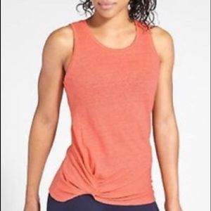 Athleta Zephyr Knot Tank Top